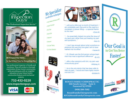 Rack Cards and Brochures